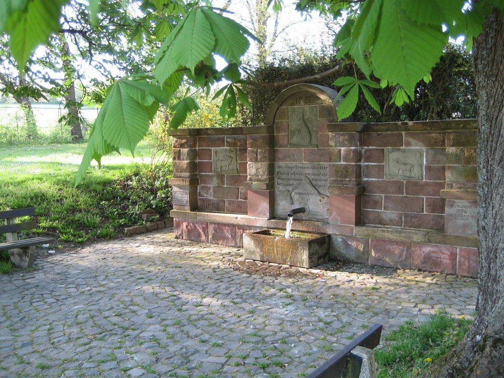Der Gangelbrunnen